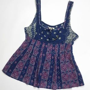 FREE PEOPLE | boho baby doll tank